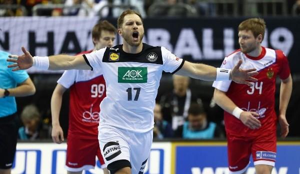 DHB-Team bangt vor Hauptrunden-Auftakt der WM um Steffen Weinhold