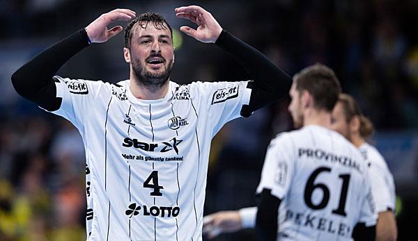 Handball Champions League: Kieler Punktverlust gegen Saporoschje - Löwen in der Gruppenphase