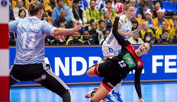 Erste WM-Niederlage für deutsche Handballerinnen