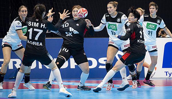 Handball-WM: Remis gegen Südkorea - DHB-Team verpasst Gruppensieg