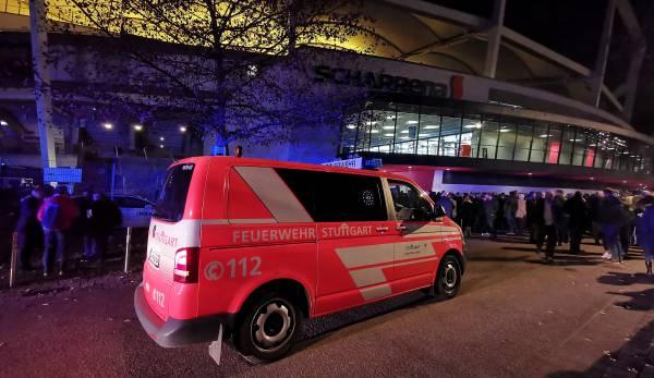Halle evakuiert: Handball-Pokalspiel zwischen Stuttgart und Kiel unterbrochen
