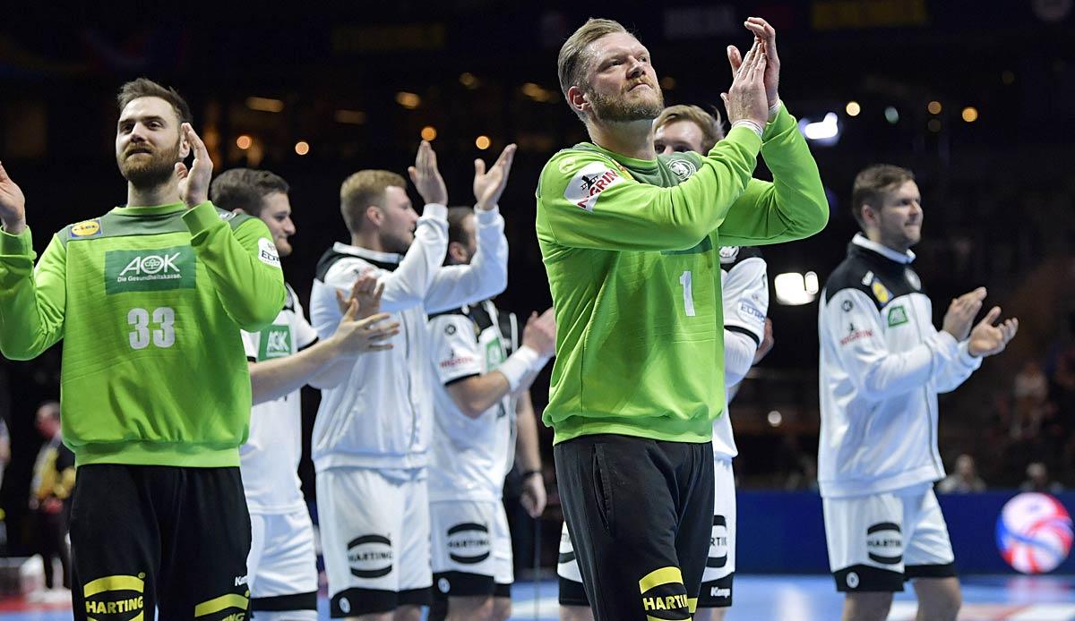 EM 2022: Handballer spielen in der Qualifikation gegen Österreich