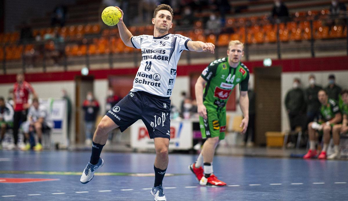 Handball-BL: Flensburg hält Kiel auf Distanz