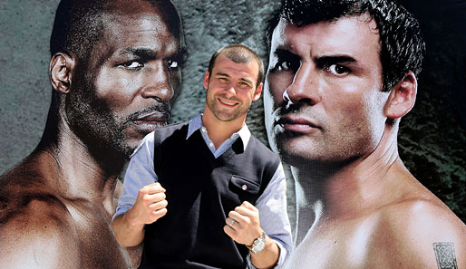 Calzaghe, Hopkins