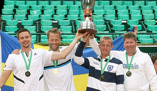 Tennis, World Team Cup, schweden, wussland, finale