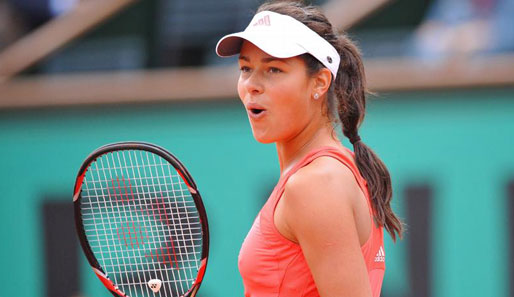 Tennis, French Open, Ana Ivanovic