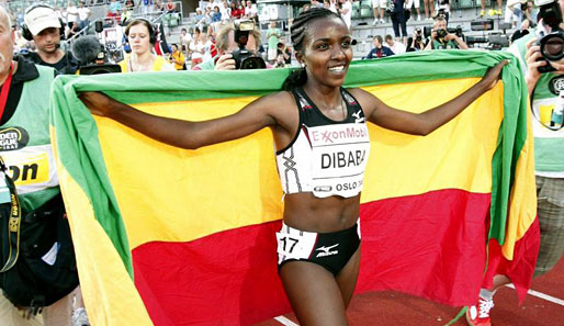 Leichtathletik, Dibaba, Weltrekord, Golden, League, Meeting