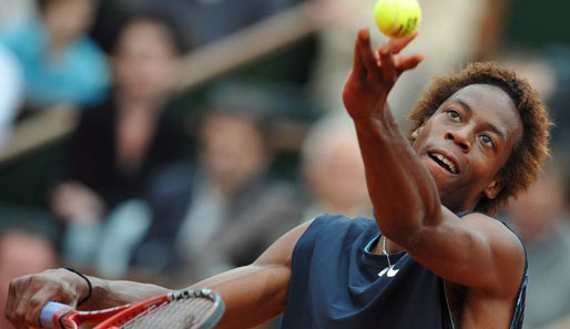 Tennis, French Open, Roger Federer, Gael Monfils