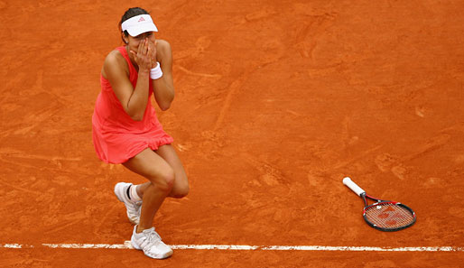 Tennis, Roland Garros, French Open, Paris Bas, Ivanovic