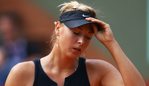 Tennis, Paris, French Open, Sharapova