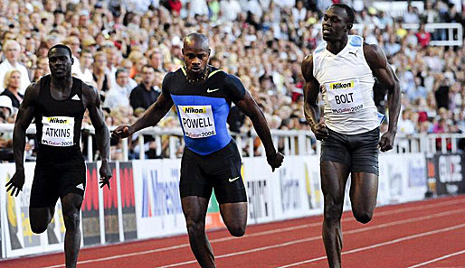 Leichtathletik, Stockholm, Meeting, Bolt, Powell