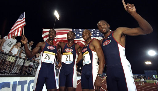 Leichtathletik, Doping, USATF, US-Staffel, Jerome Young, Antonio Pettigrew, Tyree Washington, Michael Johnson