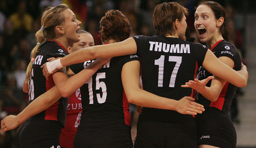 Volleyball, Damen, Deutschland, Thumm