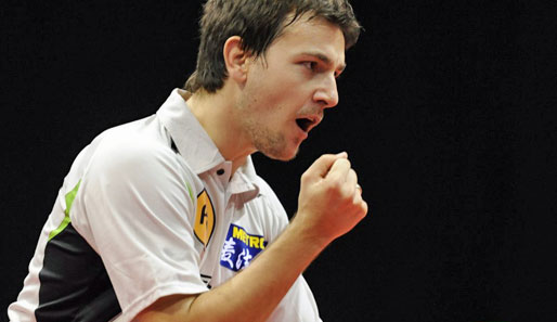Timo Boll steht beim Tournament of Champions in China im Halbfinale