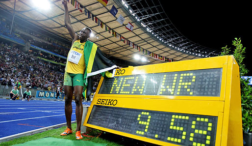 Chronologie Der 100 Meter