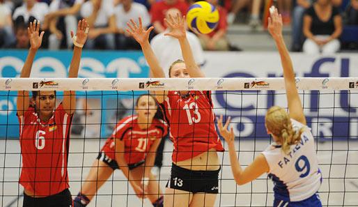 Polen Deutschland Volleyball