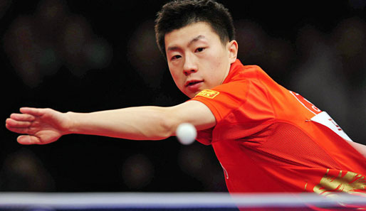 Sieger der German Open: Der Chinese Ma Long