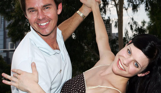 "Todd Woodbridge mit ""Dancing with the Stars""-Partnerin Emily Riley"