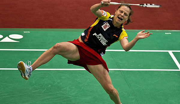 Juliane Schenk steht im Achtelfinale der Superseries in Hong Kong