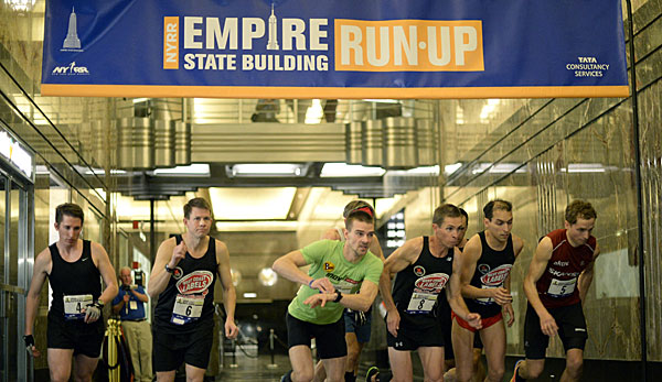 Christian Riedl gewann das Run-up im Empire State Building