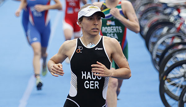 Anne Haug war beste Deutsche in Triathlon