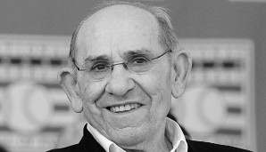 Yogi Berra wurde 1972 in die Hall of Fame in Cooperstown/New York aufgenommen