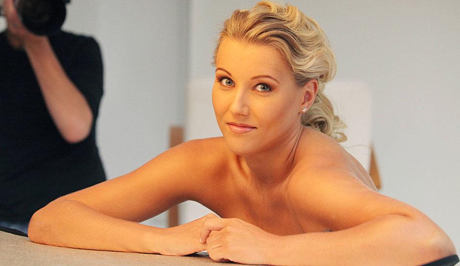 Playboy sportlerinnen im Posed Naked