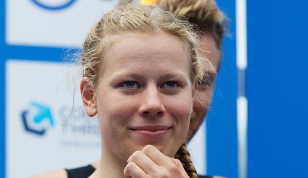 Hamburg-Triathlon: Laura Lindemann überrascht mit Platz drei