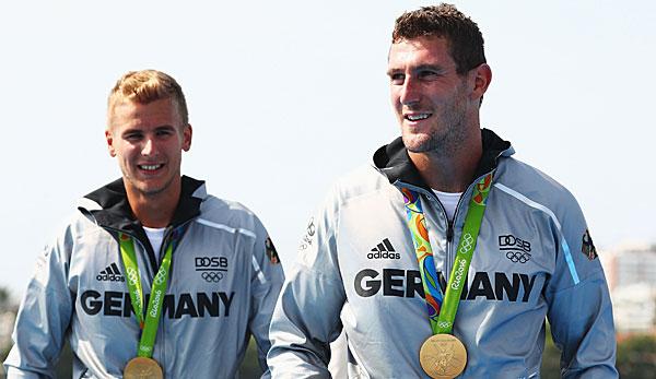 Olympiasieger Brendel und Liebscher holen WM-Gold