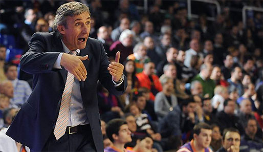 Trainer-Legende Svetislav Pesic trainiert seit November 2010 den Valencia BC