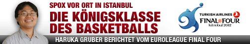 Haruka Gruber, Euroleague, Final Four, Istanbul