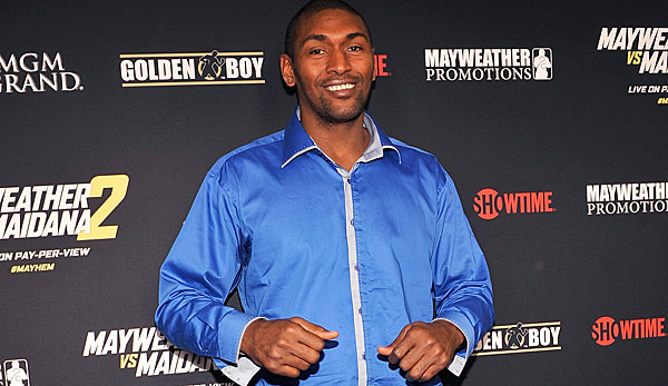 "Metta World Peace läuft in Italien als ""The Panda's Friend"" auf"