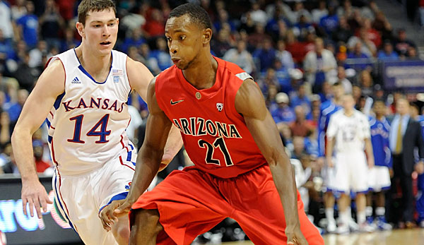 Kyle Fogg spielte am College für die University of Arizona