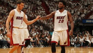 Goran Dragic und Justise Winslow