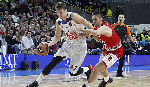 Luka Doncic spielt bei Real Madrid