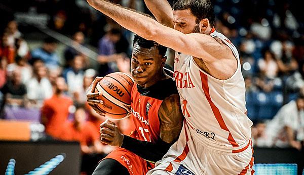 Deutschland Georgien Basketball