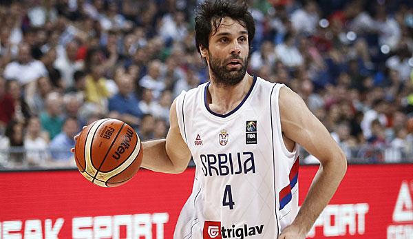 Basketball: Milos Teodosic verpasst WM in China wegen einer Verletzung