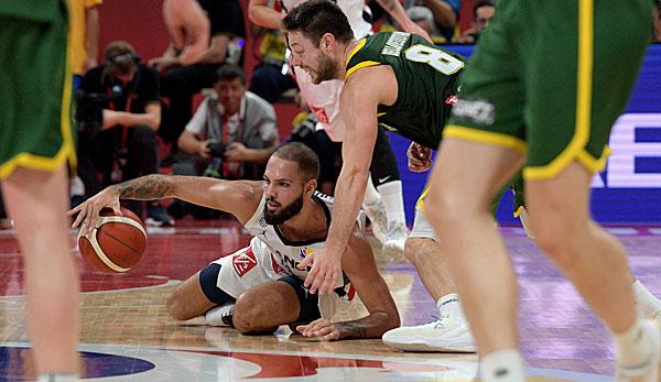 Basketball-WM, Spiel um Platz drei: Comeback-Sieg für Frankreich - Australien bricht zusammen