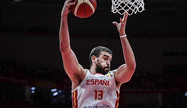 Basketball-WM - Marc Gasol führt Spanien ins Finale: Der Sommer seines Lebens