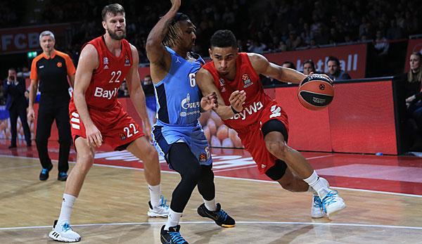 EuroLeague: Bayern Münchens Basketballer stoppen Negativserie gegen St. Petersburg