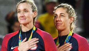 Kerri Walsh Jennings und April Ross holten Bronze in Rio