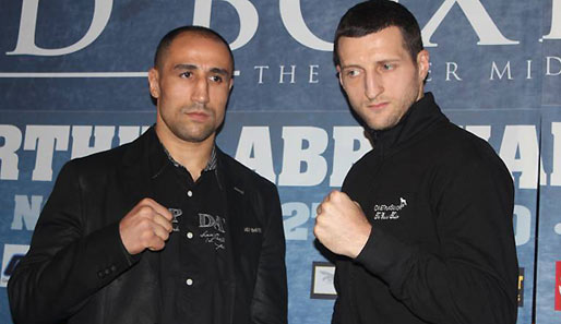 Super-Six-Time in Helsinki: Arthur Abraham trifft auf Carl Froch