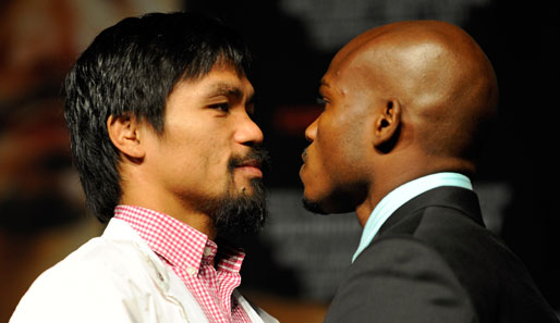 Manny Pacquiao steigt am Samstag in Las Vegas gegen Timothy Bradley in den Ring