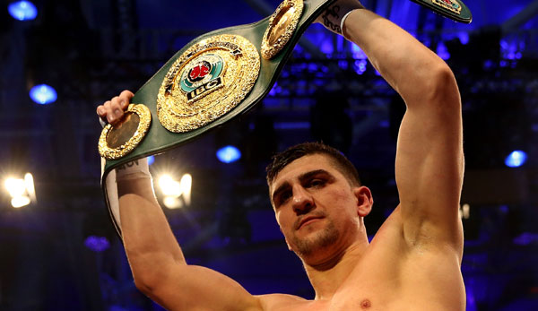 Marco Huck ist aktuell Weltmeister der IBO