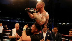 George Groves ist Box-Weltmeister geworden