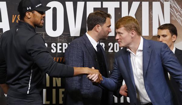 Boxen: Harter Fight gegen Powetkin - Anthony Joshua bleibt Weltmeister
