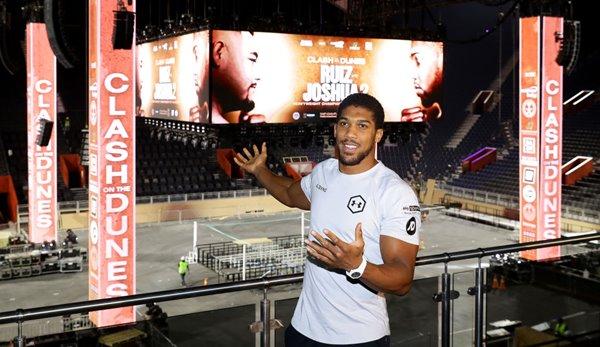 Boxen: Anthony Joshua - Titel, Gehalt, Geld für den Kampf gegen Andy Ruiz