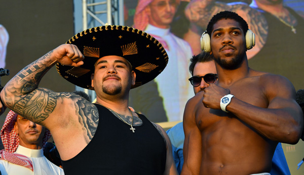 Anthony Joshua vs. Andy Ruiz Jr, Wiegen: Ruiz viel schwerer als im ersten Kampf