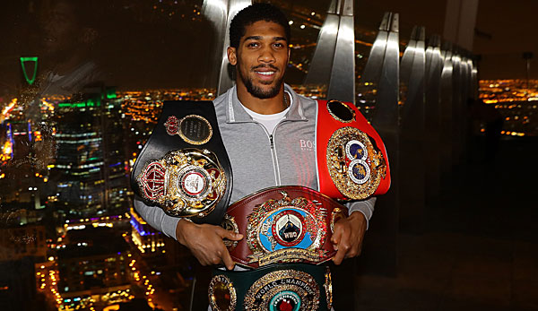 "Box-Champ Anthony Joshua plant offenbar einen zweiten ""Rumble in the Jungle""."