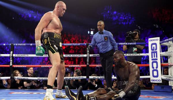 Tyson Fury besiegte Deontay Wilder im Re-Match.